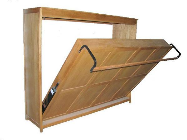 chose concealed or exposed bed frame mounting - Murphy Bed Frame
